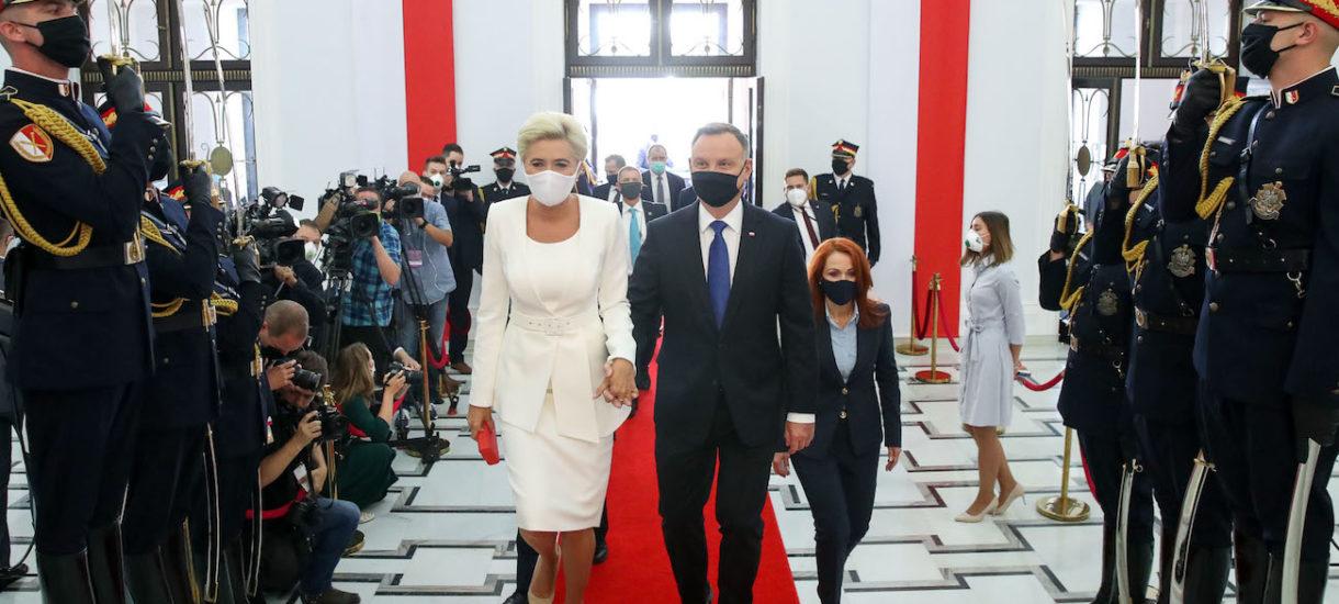 Agata Duda zarobi milion złotych za bycie pierwszą damą przez kolejną kadencję. Internet zapłonął