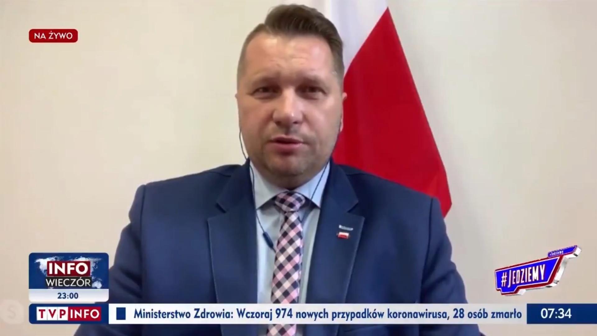 Przemysław Czarnek - minister rodem z najgorszego koszmaru.