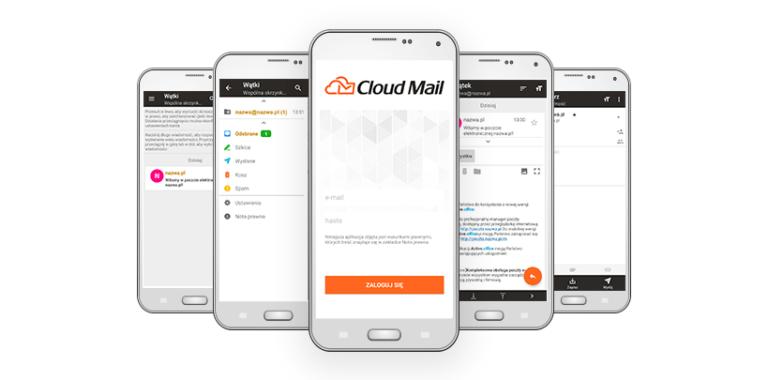 cloudmail od nazwa.pl mobilna