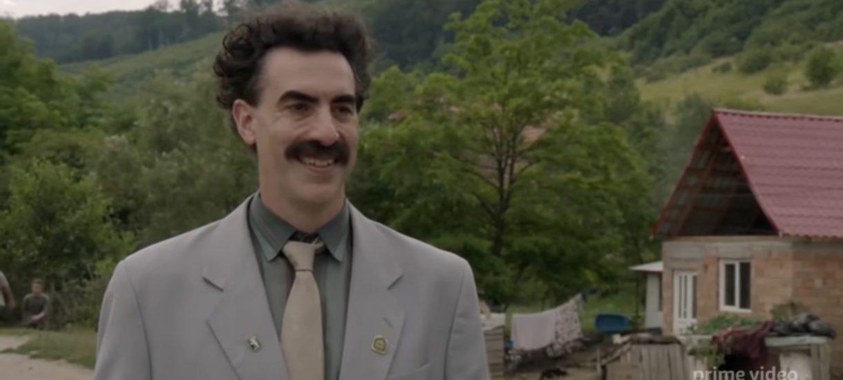 """""""Borat 2"""" już jutro i może namieszać w kampanii wyborczej w USA. Bo Borat skompromitował prawnika Trumpa"""