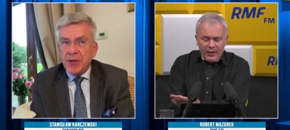 """""""Jedno jabłko z wieczora i nie ma doktora"""". Oto sposób Stanisława Karczewskiego na SARS-CoV-2"""