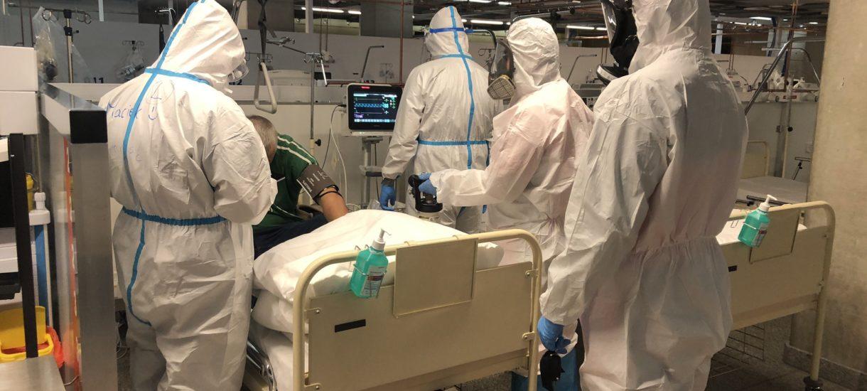 Szpital Narodowy świętuje w social mediach… przyjęcie pojedynczego pacjenta z Covid-19. Naprawdę