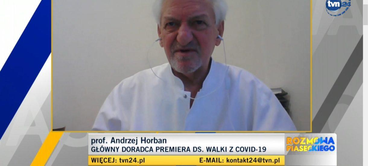 Jak prof. Horban robi z Warszawy Sztokholm. Jeśli doradza premierowi tak, jak komunikuje się ze światem, to mamy przerąbane