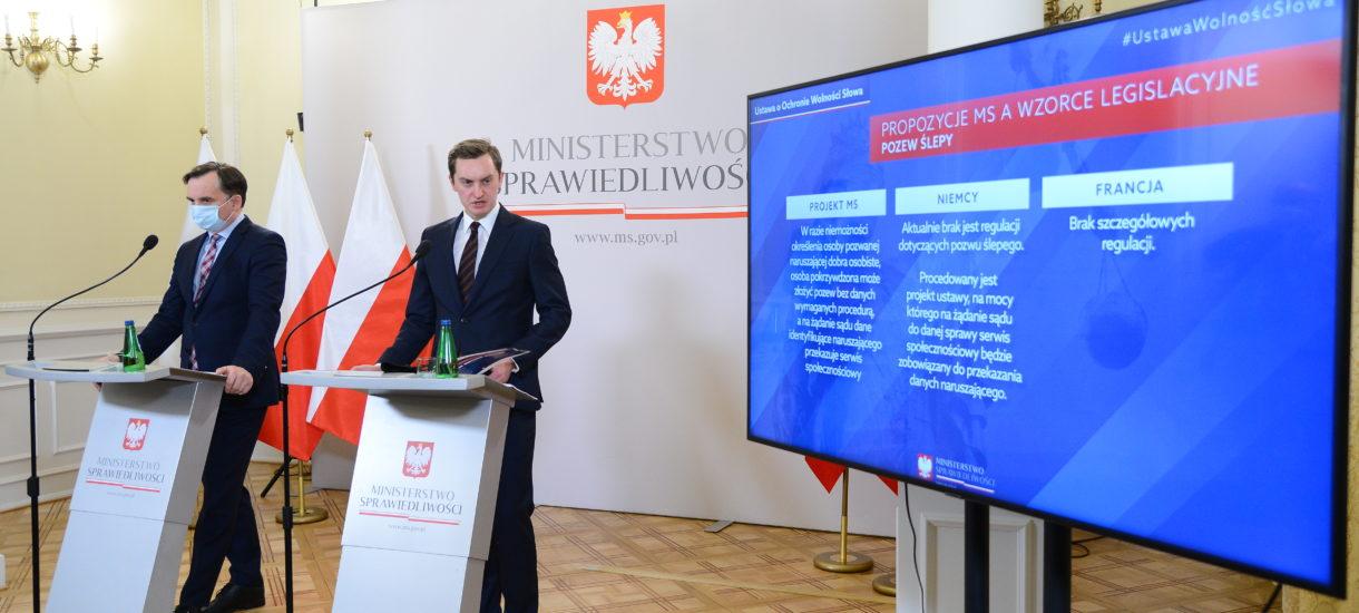 W Polsce ma powstać sąd wolności słowa w internecie. Dobry pomysł, szkoda tylko że ziobryści zrobią z nim to, co zwykle