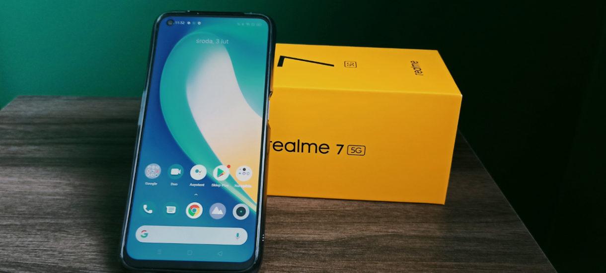 Realme 7 5G czyli najtańszy telefon w Polsce obsługujący sieć 5g