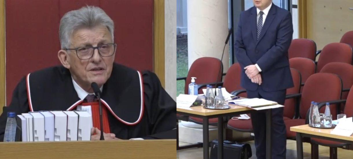 Przyłębska i Piotrowicz zdejmują Adama Bodnara z urzędu. Trybunał orzekł, że jego kadencja już się zakończyła