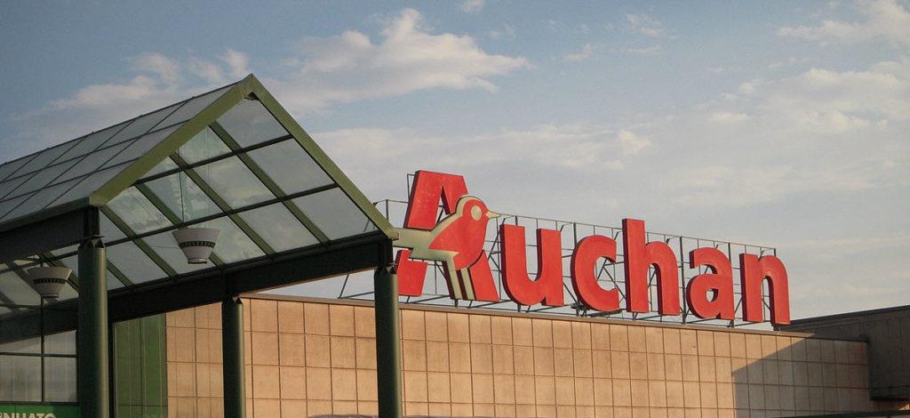 Godziny ciszy sieć Auchan