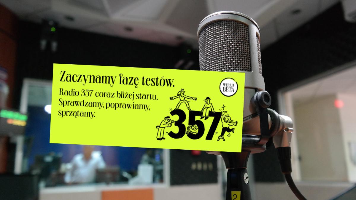 Radio 357 uruchomiło stronę www. Na razie testowo, ale ...