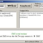 Screen z aplikacji OmnixSMS