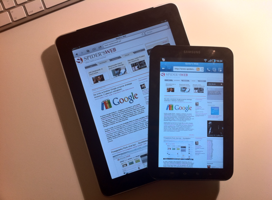 Galaxy Tab vs. iPad