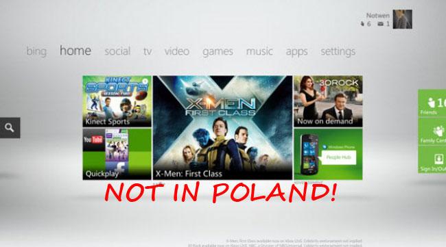 Aktualizacja konsoli Xbox 360 w Polsce to drwina