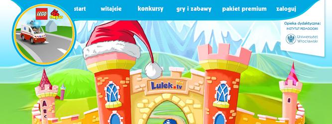 Lulek.tv – pierwszy w Polsce interaktywny plac zabaw dla dzieci