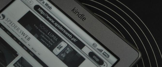 Poczytaj mi Amazonie, czyli recenzja Kindle 4