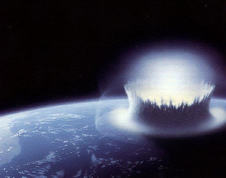 Dwie Ziemie i wielka kolizja, której skutkiem ubocznym stał się Księżyc