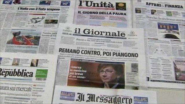 Padnie 100 włoskich gazet? No i co z tego?
