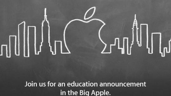 Apple zatrzęsie szkolną ławą