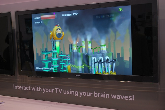 CES 2012: Kontroluj telewizor myślami