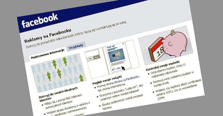 Facebook: gdyby nie reklamy, nasz serwis byłby płatny