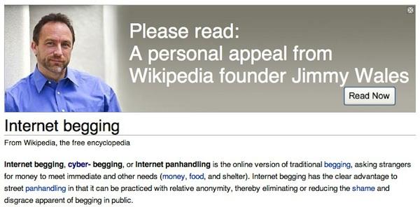 Zbiórka Wikipedii – cynicy się nabijali, użytkownicy wpłacali. I znów się udało