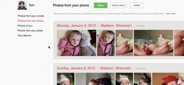 Świetna reklama Instant Upload, jednej z najważniejszych usług Google+