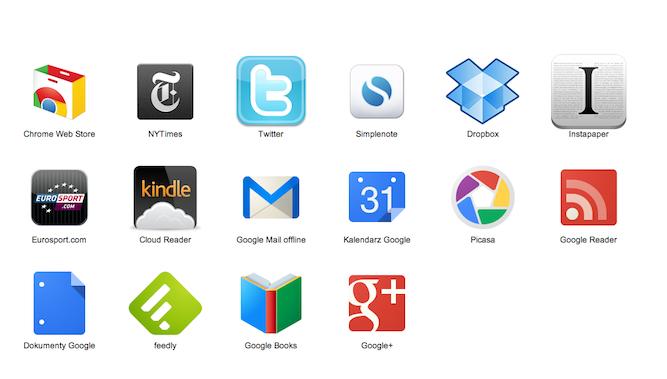 Web aplikacje w Chrome to w większości ściema