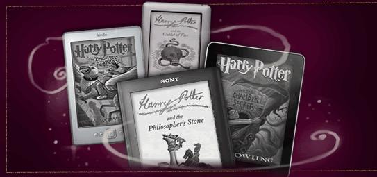 Na papierze Harry Potter sprzedał się w 325 milionach egzemplarzy. Teraz czas na e-booki
