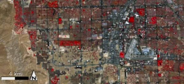 To trzeba zobaczyć – Las Vegas widziane z kosmosu na przestrzeni 40 ostatnich lat