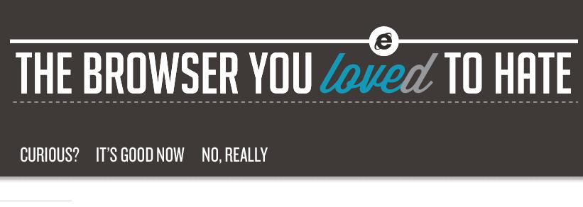 Przeglądarka, którą kochasz nienawidzić… Ups, kochałeś nienawidzić