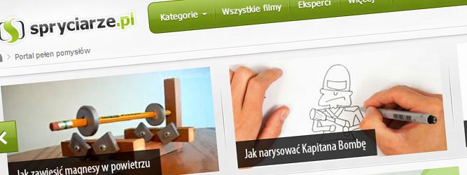 Głowa Spryciarzy ciągle jest pełna pomysłów – Marcin Radziwoń, Spryciarze.pl