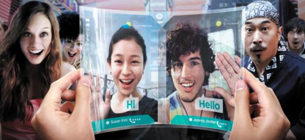 Samsung ma wyginający się ekran AMOLED. Rewolucja?