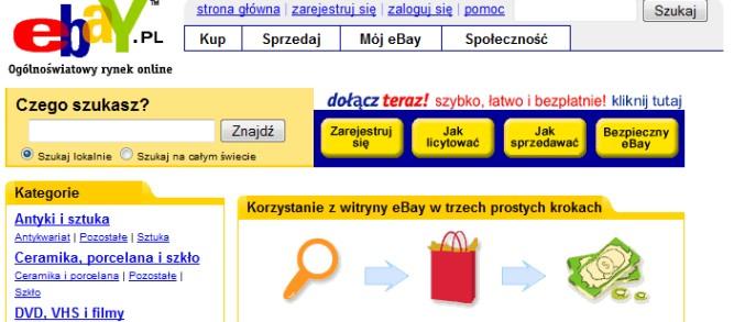 Upadłe legendy polskiego internetu: eBay Polska