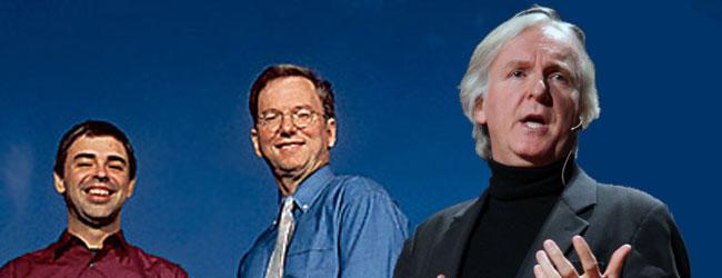Dyrekcja Google i James Cameron szykują program kosmiczny!
