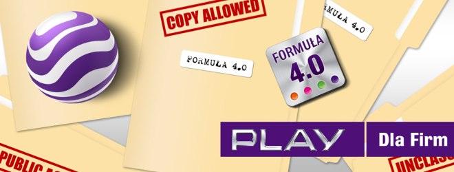 Play pokazał ofertę no limits dla firm w punkcie ksero, choć wcale nie jest pierwszy