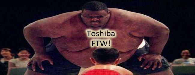 13 cali bezsensu od Toshiby