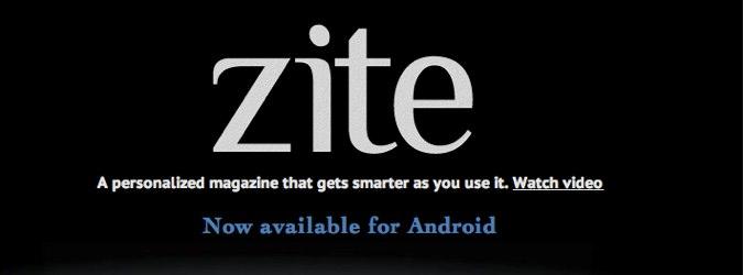 Zite na Androida już jest!