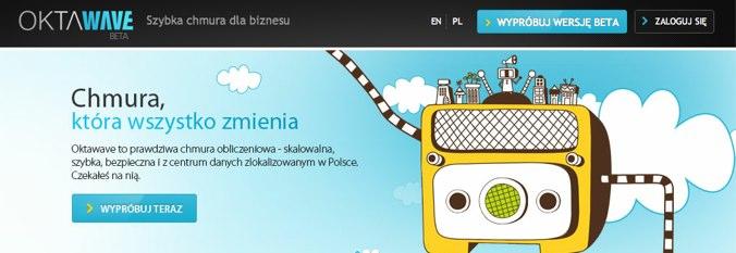 Oktawave – rusza polska chmura obliczeniowa. Najszybsza na świecie