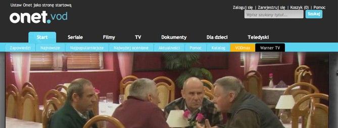 Sprawdzamy serwisy VOD – czy na Onet VOD można coś jeszcze obejrzeć?