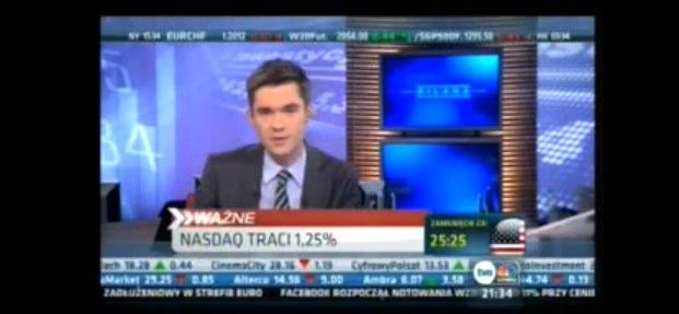 W TVN CNBC o debiucie Facebooka