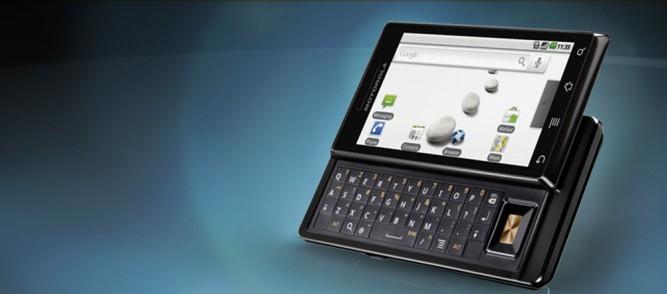 Motorola nie wykorzystała szansy, którą dał Milestone