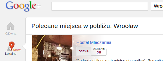 Żegnaj Google Places, witaj Google+ Local