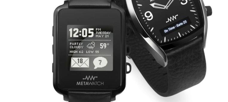 MetaWatch staje się jeszcze lepszy. Teraz obsługuje iPhone'a i ma Bluetooth 4.0!