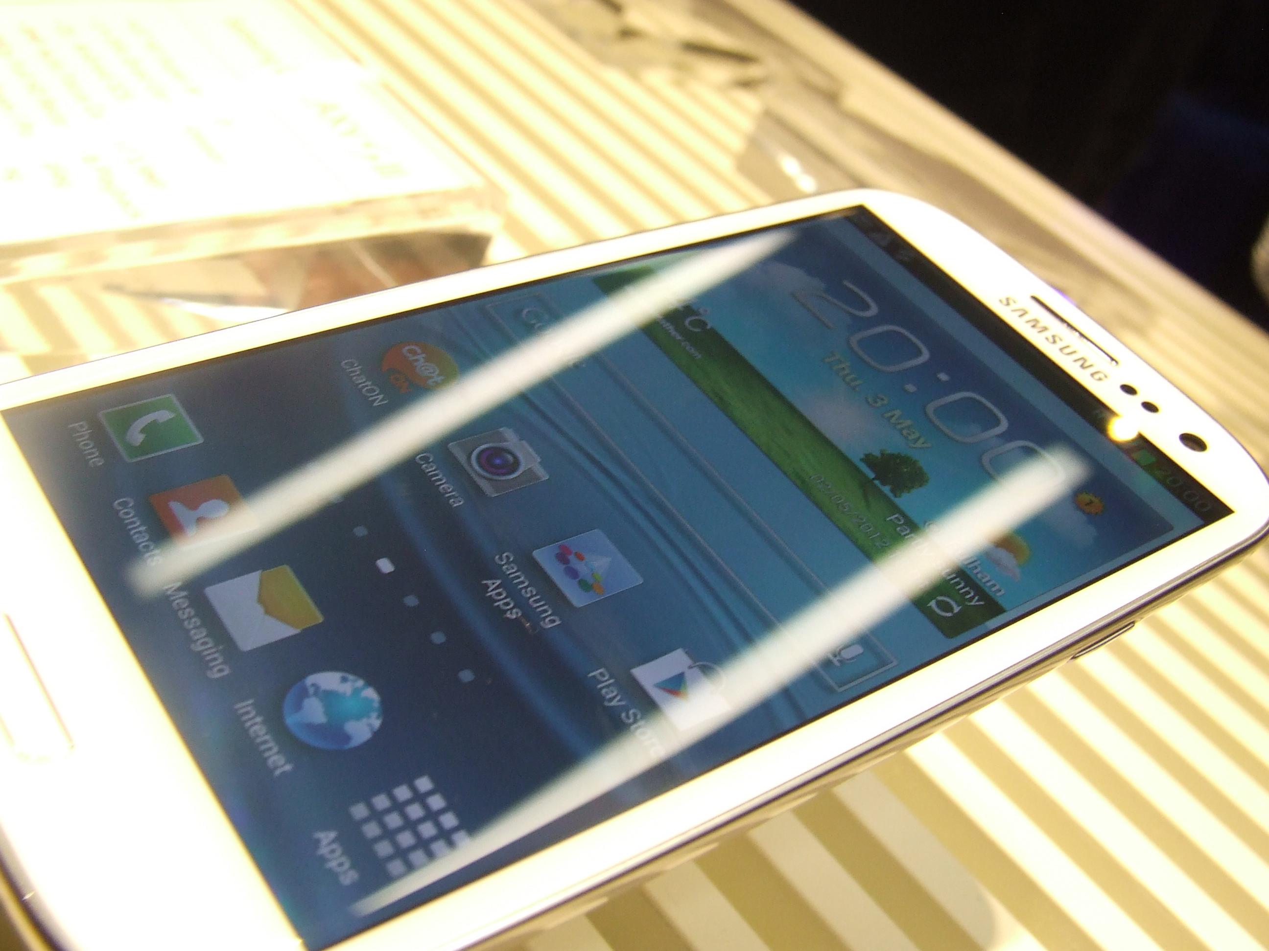 Samsung Galaxy SIII – pierwsze wrażenia