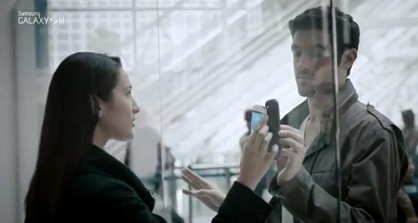 Oficjalna reklama Samsunga Galaxy S III – zainspirowana przez Apple?