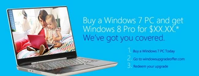 Bardzo tania aktualizacja do Windows 8? Nie, dziękuję