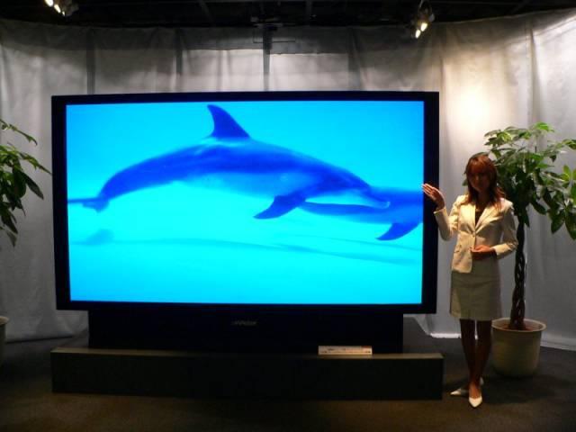 Gigantyczne telewizory wchodzą pod strzechy! 1080p będzie musiało odejść do lamusa