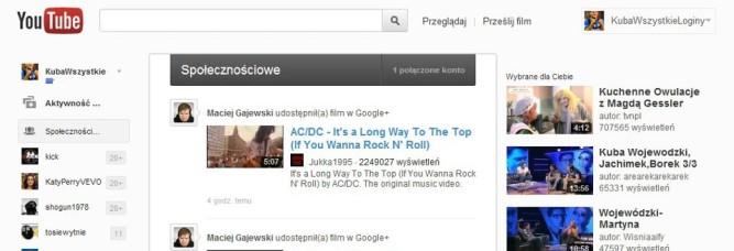 YouTube znowu się zmienia, trochę na modłę Google+