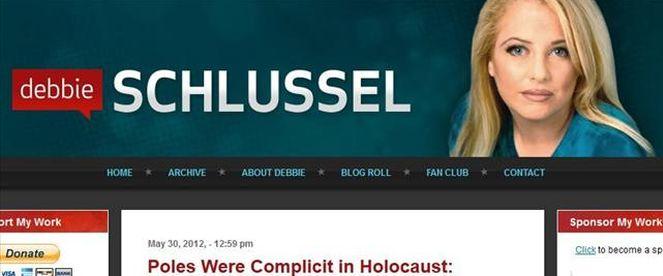 Debbie Schlussel to troll, który żeruje na polaczkowatości