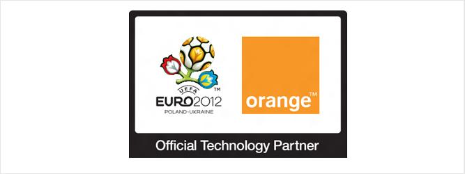 Partnerstwo Technologiczne Orange przy UEFA EURO 2012™ w liczbach (infografika)