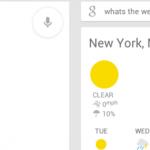 Google Now ICS