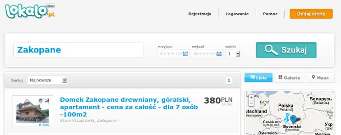 Czy wyszukiwarka noclegów Lokalo.pl ma szansę przebić popularnością airbnb.com?